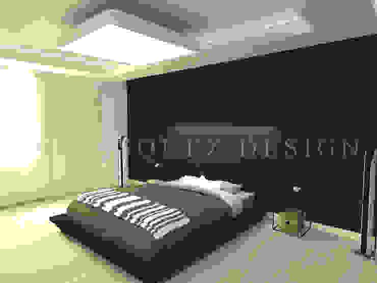 Apartamento Boyaca Habitaciones de estilo minimalista de Johana Velásquez Minimalista