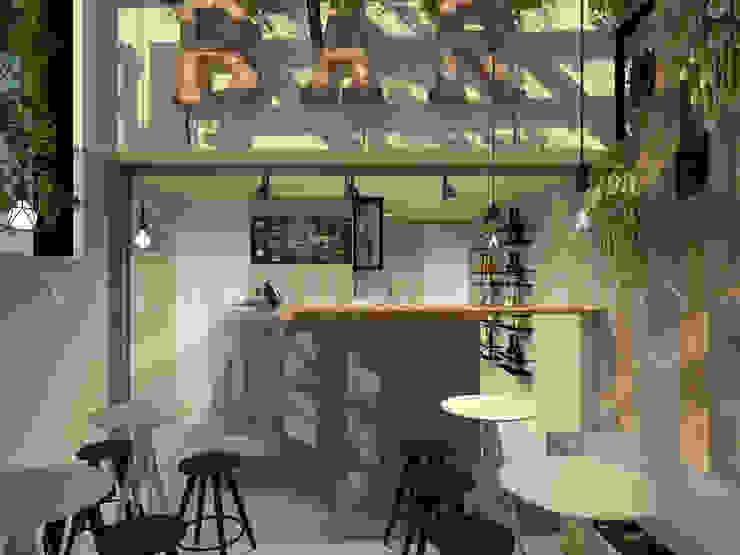 Cafe-Bar Calle64 de Johana Velásquez Industrial