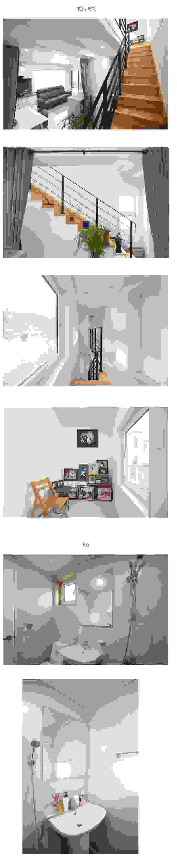 청정한 바다가 보이는 전원주택_내부 모던스타일 거실 by 공간제작소(주) 모던 우드 우드 그레인