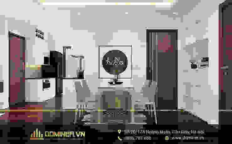 Không gian phòng ăn bởi Thiết kế - Nội thất - Dominer