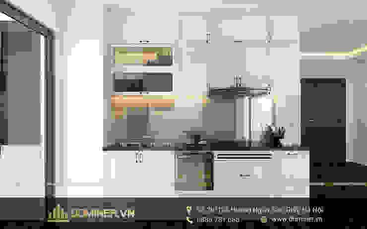 Không gian phòng bếp bởi Thiết kế - Nội thất - Dominer