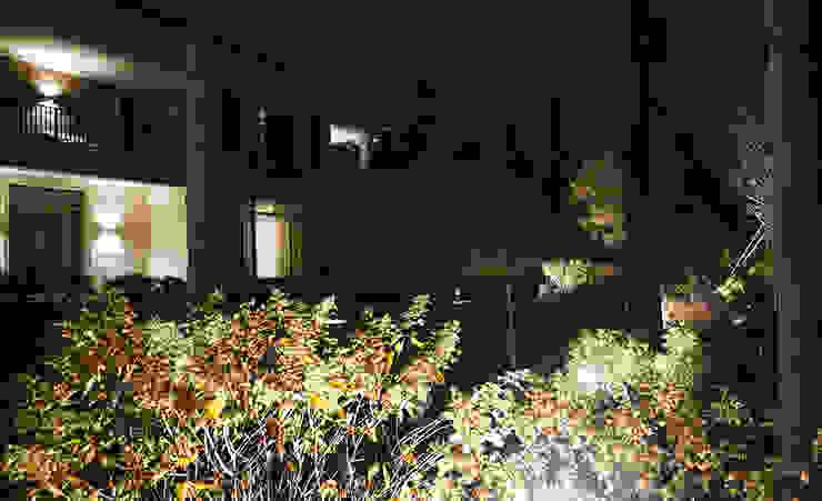 Вилла в стиле Райта. КП Грибово. 2018 г. от ARCADIA GARDEN Landscape Studio Модерн