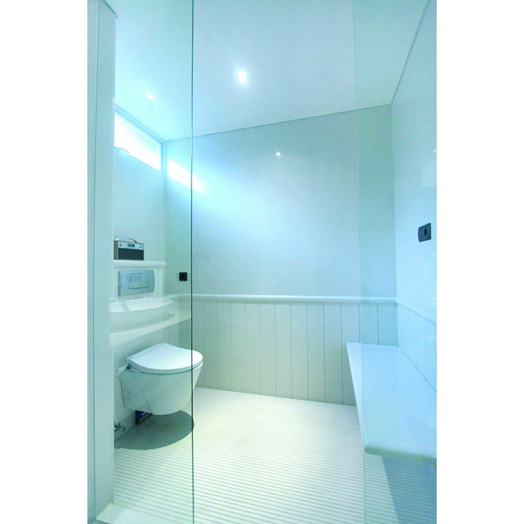 Sukamulya House - Bandung Kamar Mandi Modern Oleh CV Berkat Estetika Modern Granit