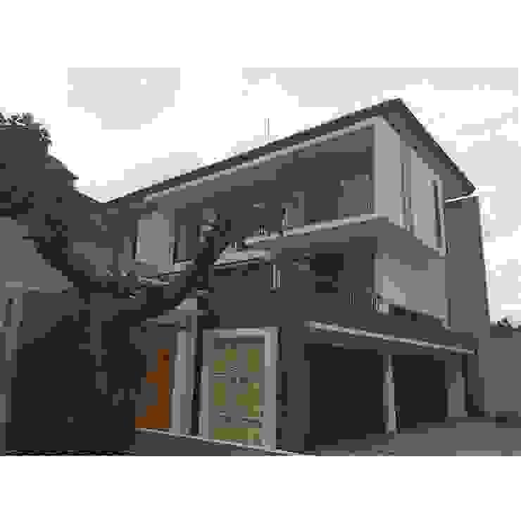 Sukamulya House - Bandung Oleh CV Berkat Estetika Tropis Beton Bertulang