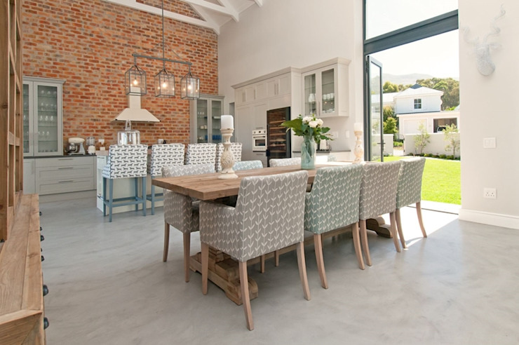 Open Plan Dining Room by Overberg Interiors Classic