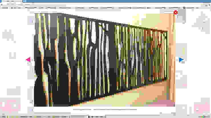 Salas de estilo minimalista de Производственная фирма 'Живая Сталь' Minimalista