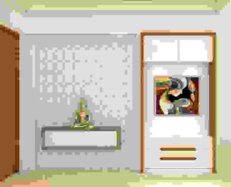 Pasillos, vestíbulos y escaleras modernos de Midas Dezign Moderno