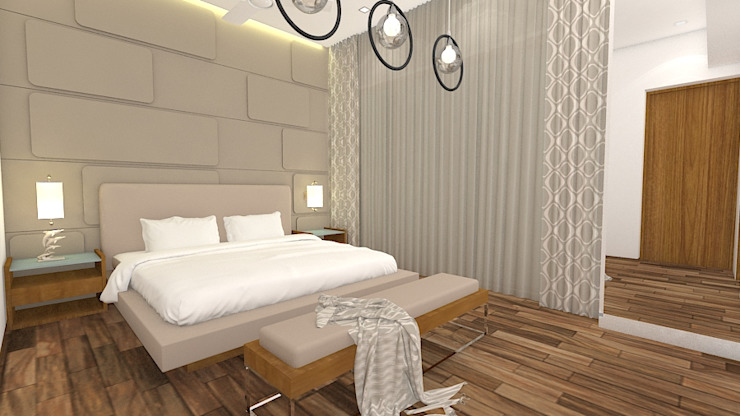 Modern style bedroom by Midas Dezign Modern