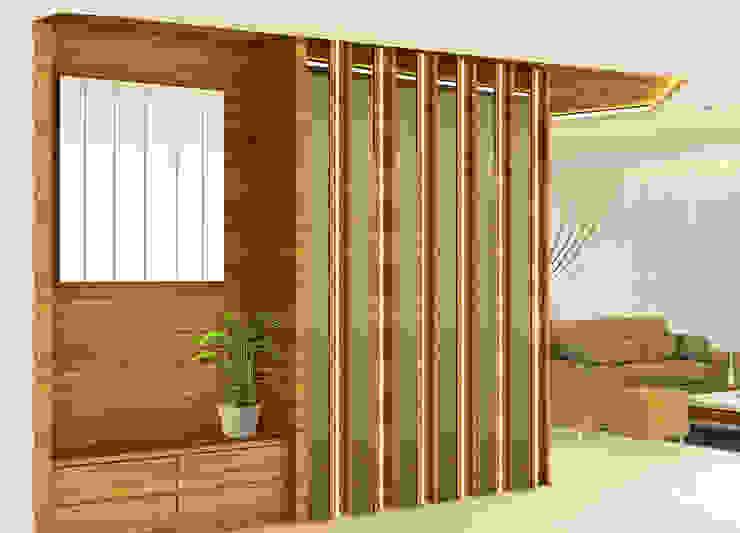 Ingresso, Corridoio & Scale in stile minimalista di Midas Dezign Minimalista