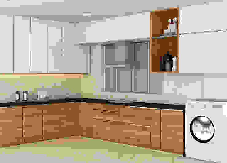 Cocinas de estilo minimalista de Midas Dezign Minimalista