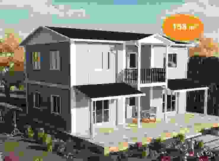 158 m2 Çift Katlı Prefabrik EV EMİN PREFABRİK DOĞU Prefabrik ev