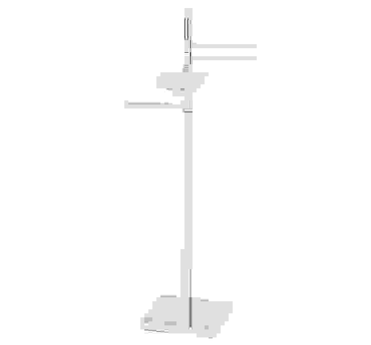Piantana multi funzione porta carta, salviette e sapone Idearredobagno.it Bagno minimalista Rame / Bronzo / Ottone Metallizzato/Argento