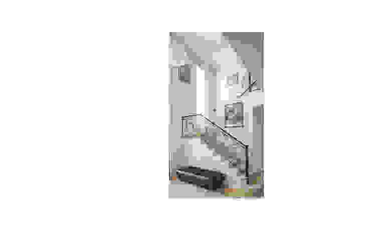 Diseño de casa estilo victoriano por CIBA: Escaleras de estilo  por CIBA ARQUITECTURA,Clásico