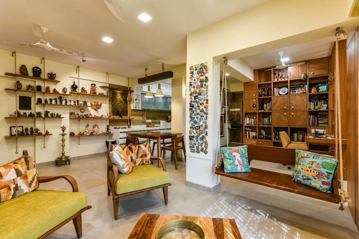 12 Wooden Partition Design Ideas For The Indian Living Room Homify
