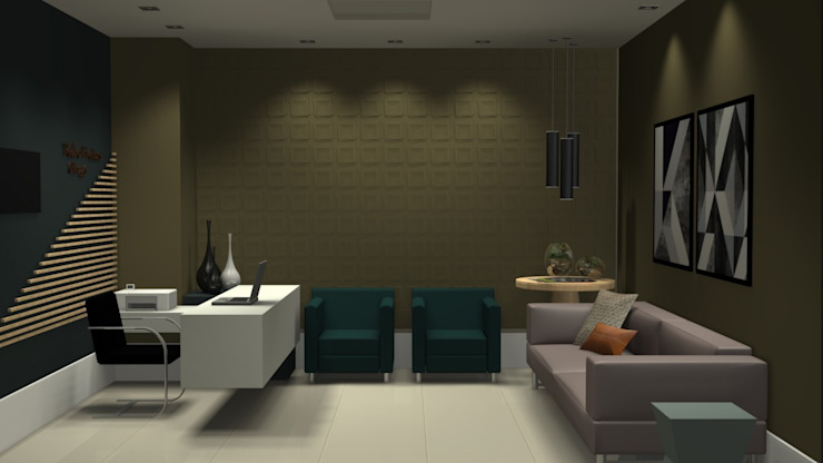 M2T1 Modern Study Room and Home Office