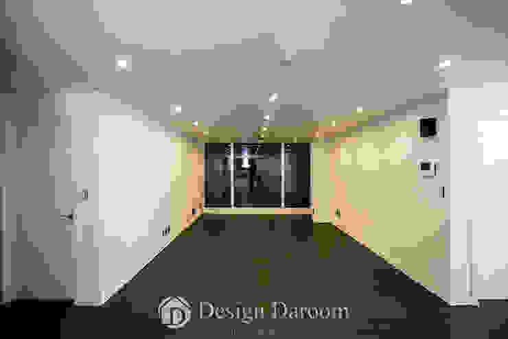 잠실 우성아파트 43py 거실 모던스타일 거실 by Design Daroom 디자인다룸 모던