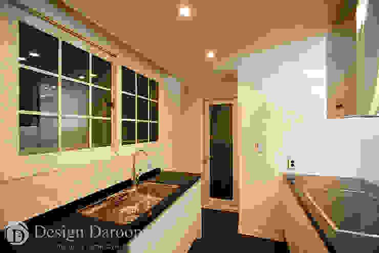 잠실 우성아파트 43py 주방 모던스타일 주방 by Design Daroom 디자인다룸 모던