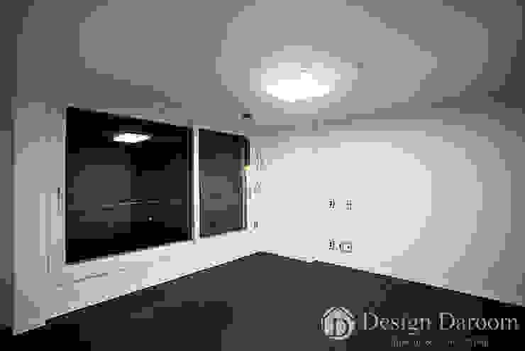 잠실 우성아파트 43py 안방 모던스타일 침실 by Design Daroom 디자인다룸 모던