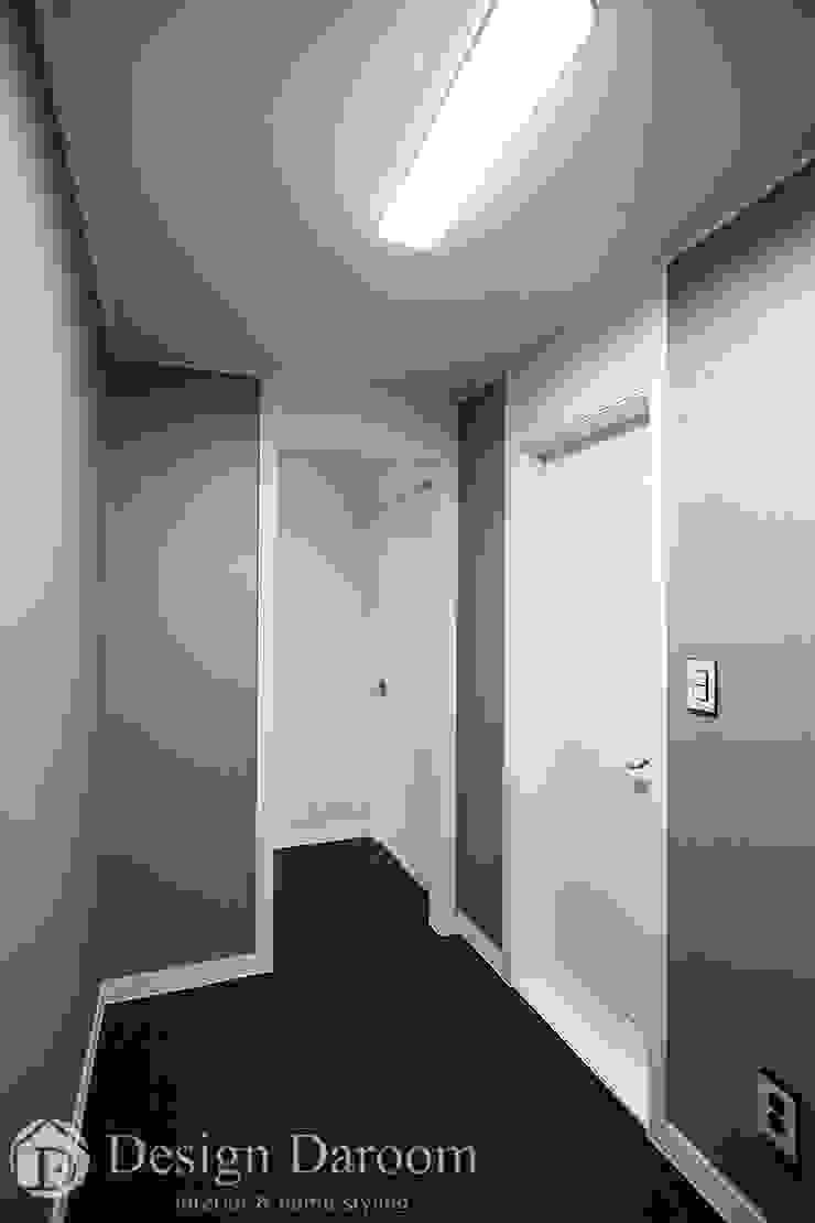 잠실 우성아파트 43py 파우더공간 모던스타일 드레싱 룸 by Design Daroom 디자인다룸 모던