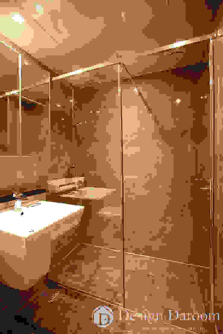 잠실 우성아파트 43py 안방 욕실 모던스타일 욕실 by Design Daroom 디자인다룸 모던
