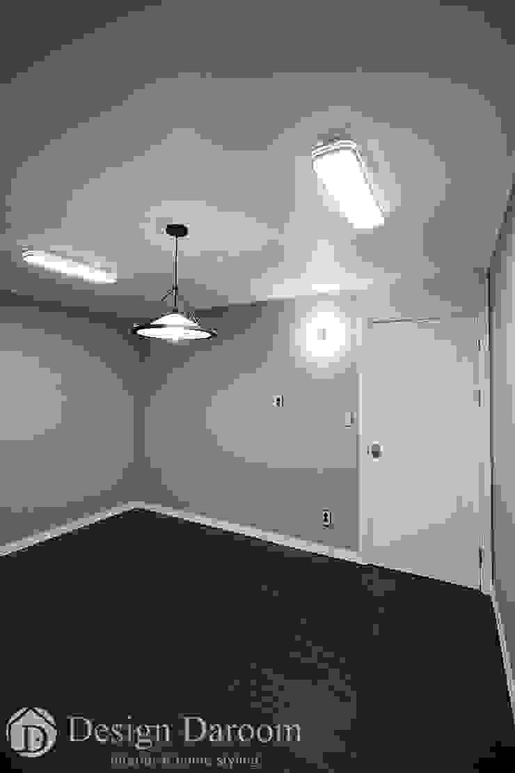 잠실 우성아파트 43py 자녀방 모던스타일 침실 by Design Daroom 디자인다룸 모던