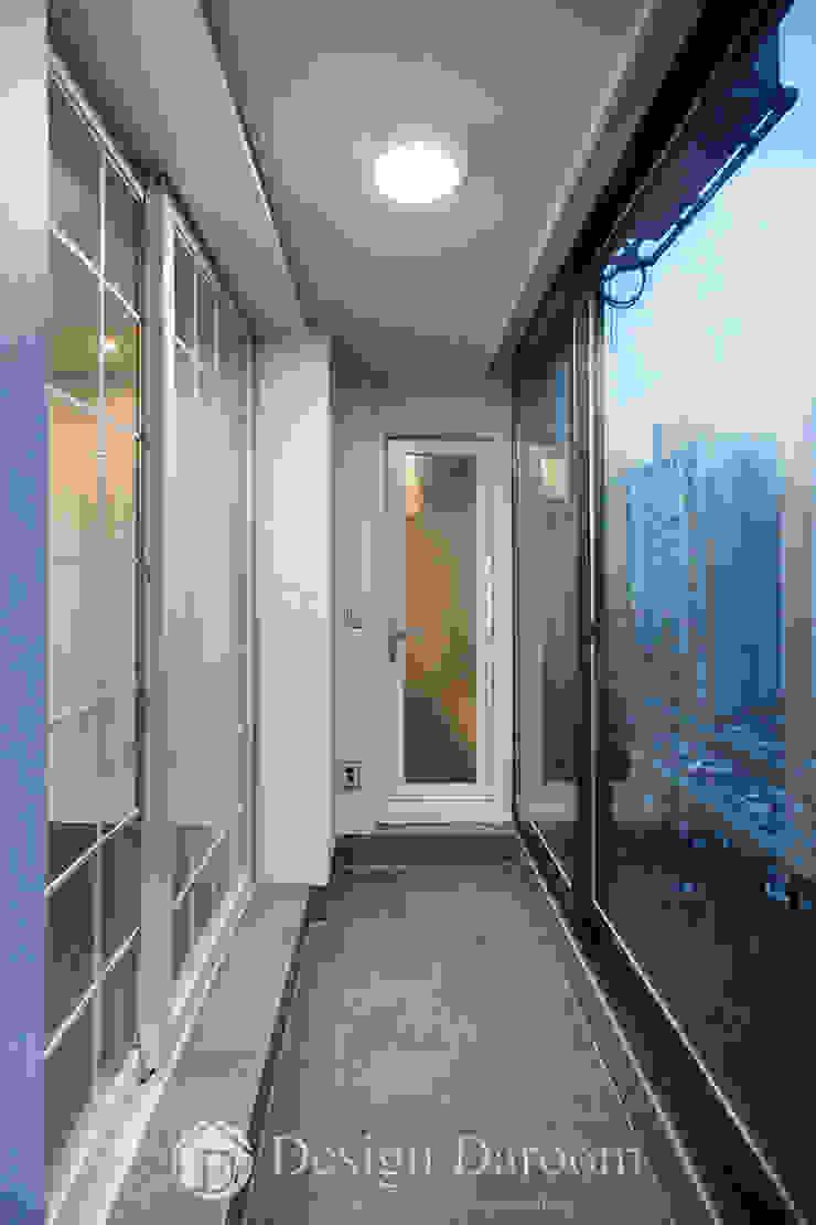 잠실 우성아파트 43py 서재 발코니 by Design Daroom 디자인다룸 모던