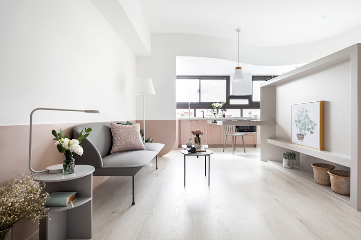 Hebbe 寓子設計 客廳