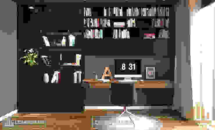 Không gian làm việc bởi Thiết kế - Nội thất - Dominer