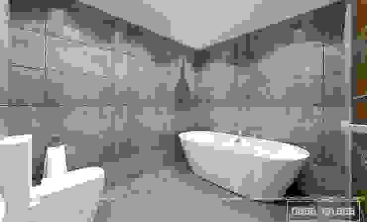 Không gian phòng tắm bởi Thiết kế - Nội thất - Dominer