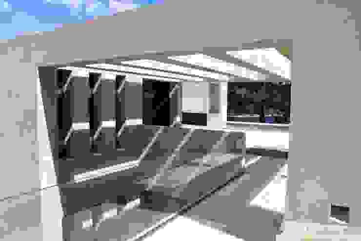 Arquitectura para el bienestar en Madrid Otto Medem Arquitecto vanguardista en Madrid Balcones y terrazas de estilo minimalista
