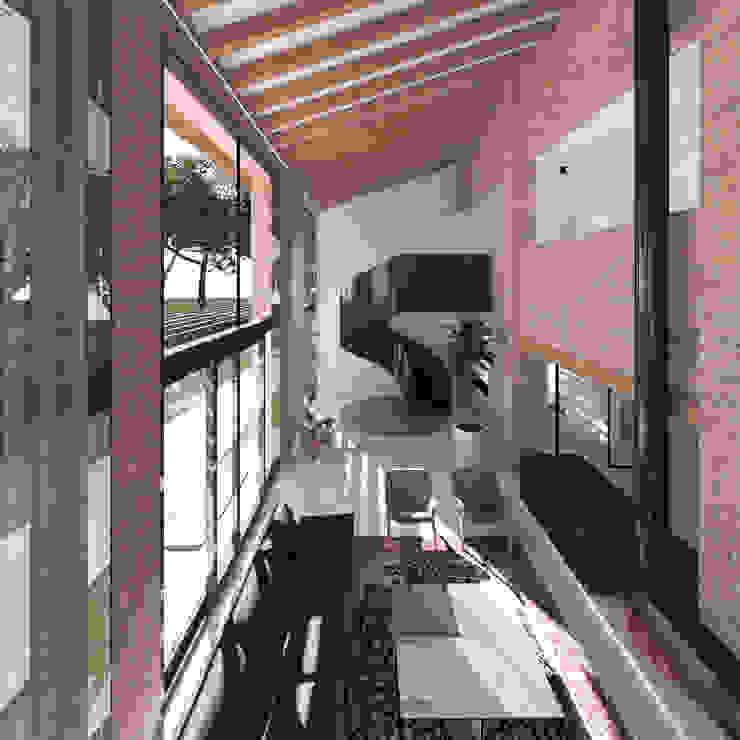 Livings de estilo colonial de MIDE architetti Colonial