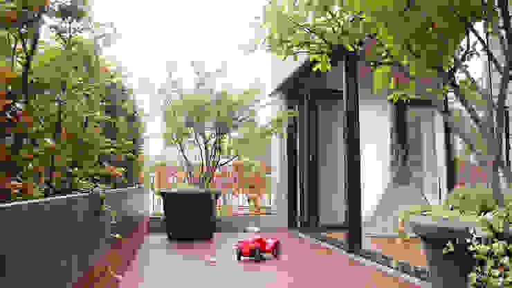 Easy Busy – familienfreundlicher Coworking Space Transstruktura - Architektur Stadt Objekt Moderne Bürogebäude