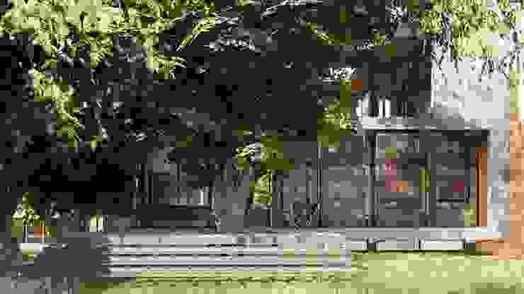 Multiespacios PA42 de Rr+a bureau de arquitectos - La Plata Moderno Hormigón