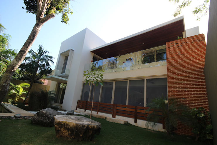 Modern houses by axg arquitectos Modern