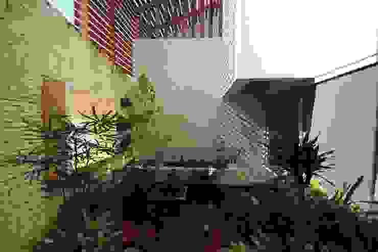 Modern style gardens by axg arquitectos Modern