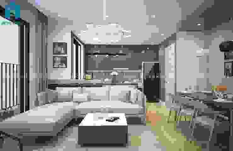 Designer: hiện đại  by Công ty TNHH Nội Thất Mạnh Hệ, Hiện đại Than củi Multicolored