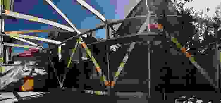 Techumbre Casas estilo moderno: ideas, arquitectura e imágenes de corner Moderno