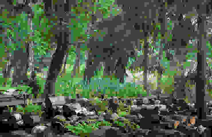 Барвиха01 Русско-Английский сад Лабиринт Сад в классическом стиле от ООО GeoGraffiti Классический