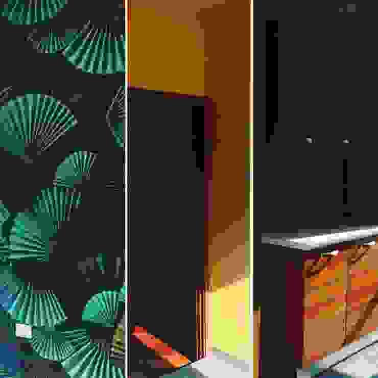 Eclectic style kitchen by DUOLAB Progettazione e sviluppo Eclectic Wood-Plastic Composite