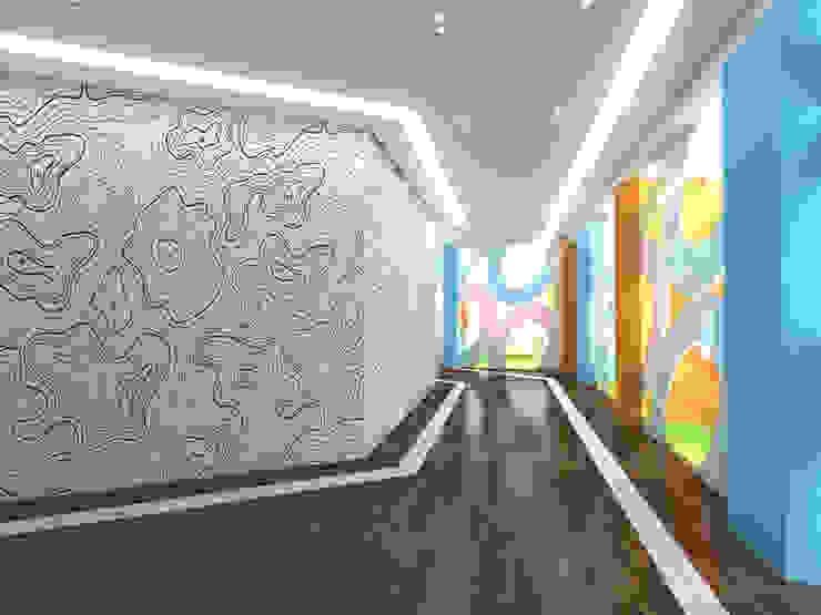 Modern office buildings by Cares Studio Modern