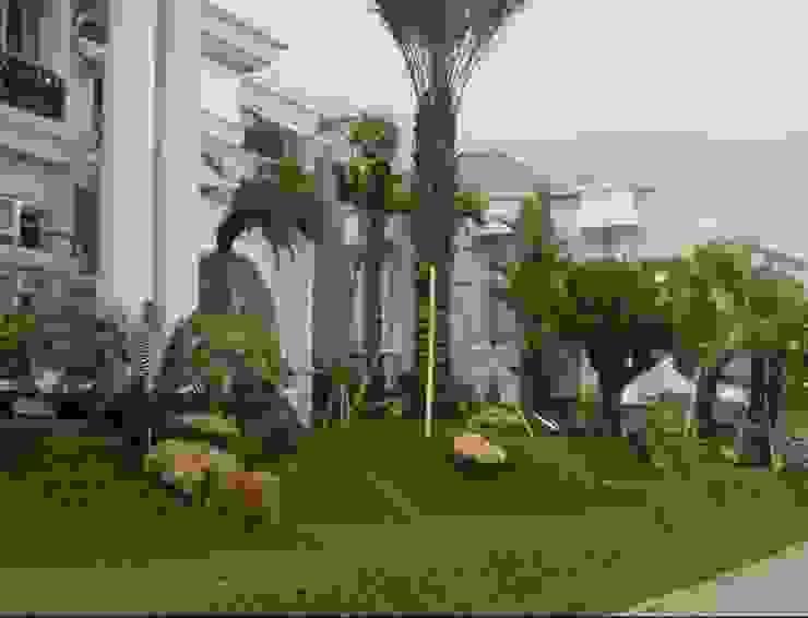 Kontraktor Taman Surabaya Barat Oleh Tukang Taman Surabaya - Tianggadha-art Mediteran Batu
