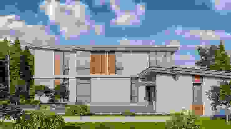 by Арх·и·Проект Minimalist Reinforced concrete