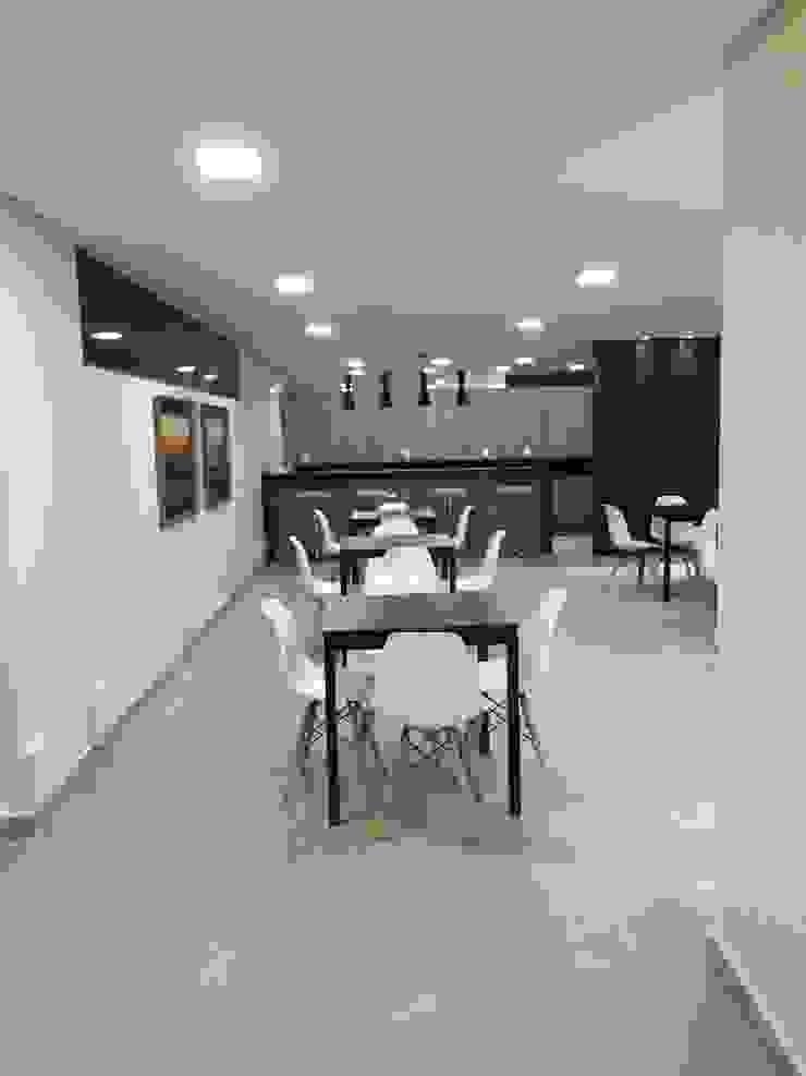 Espaço concluído por Lucia Helena Bellini arquitetura e interiores