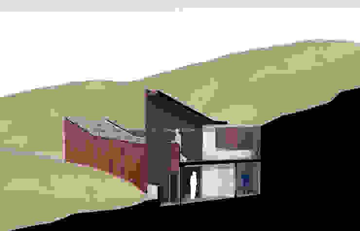 Museo mina San José Pasillos, vestíbulos y escaleras industriales de Materia prima arquitectos Industrial