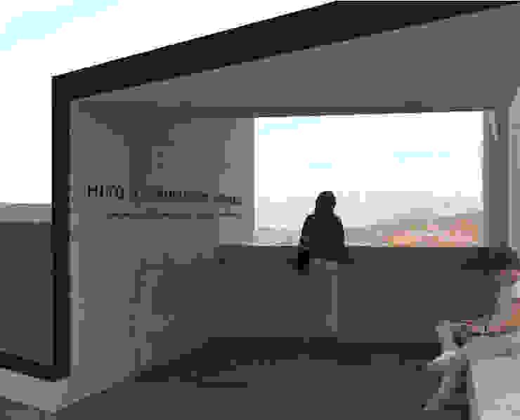 Museo mina San José Balcones y terrazas industriales de Materia prima arquitectos Industrial