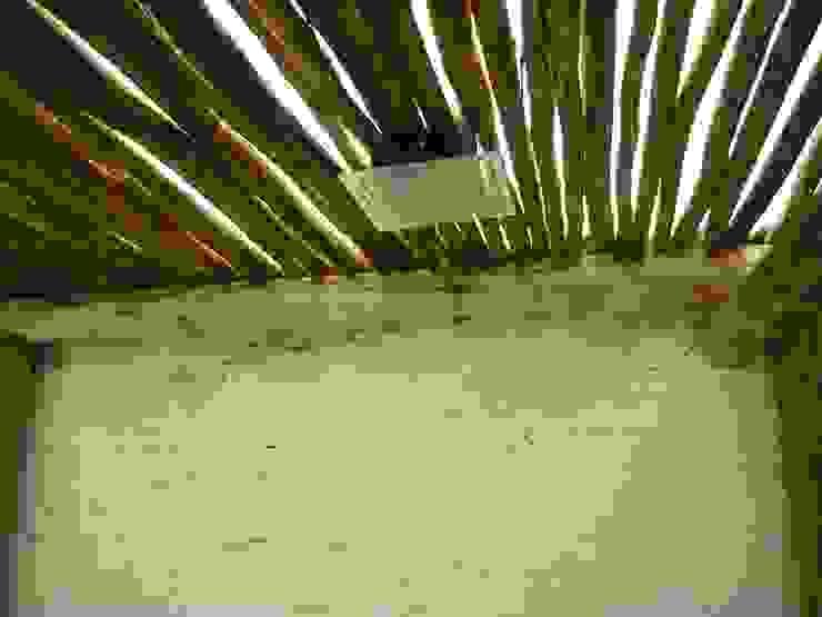 Interior quincho en Paraná, Entre Ríos Metalúrgica Riviello Techos Madera Acabado en madera