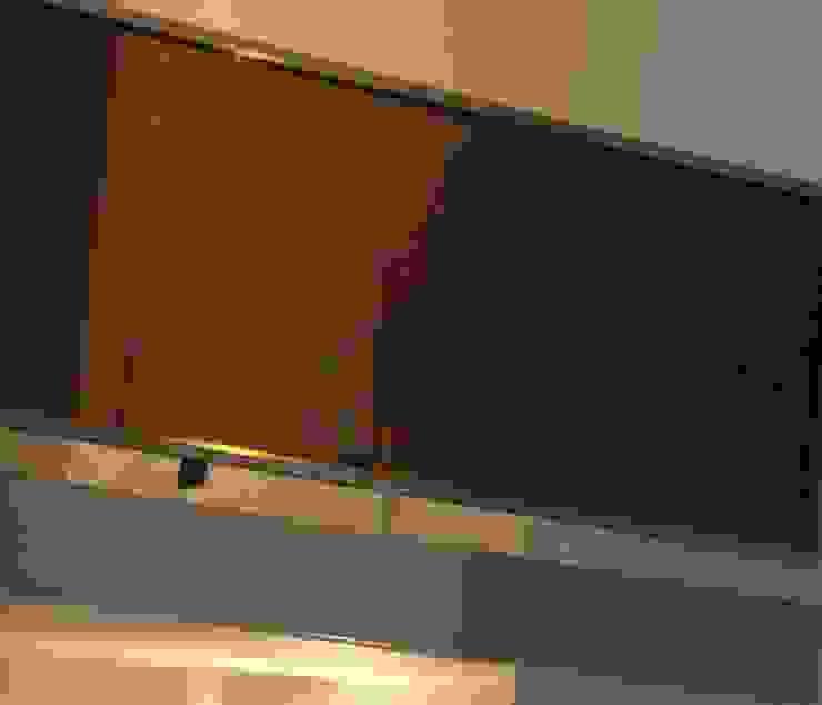 Detalle Baranda Entrepiso de GR Arquitectura Moderno Vidrio