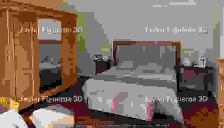 Javier Figueroa 3D Camera da letto in stile classico