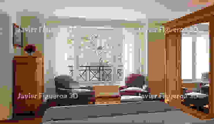 Javier Figueroa 3D Soggiorno classico