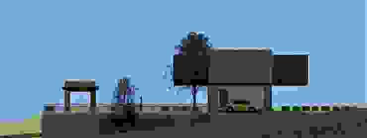 by JHONATAN NAVARRO ARQUITECTO Modern Reinforced concrete